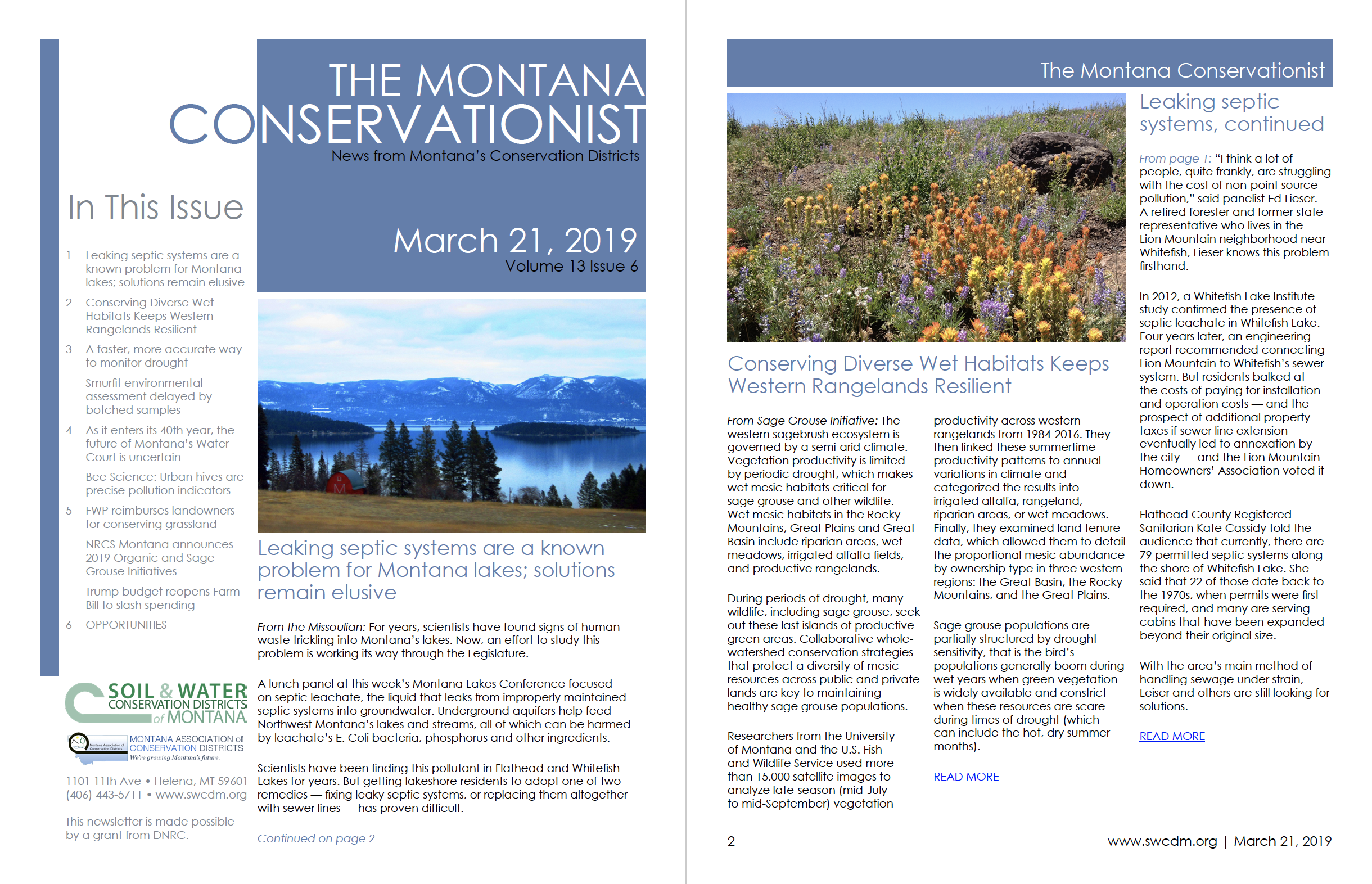 The Montana Conservationist March 21